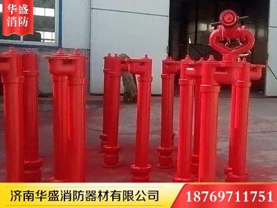 自泄防冻型消防炮座-002